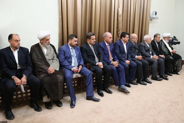 Iraqi Prime Minister meet with Ayatollah Khamenei