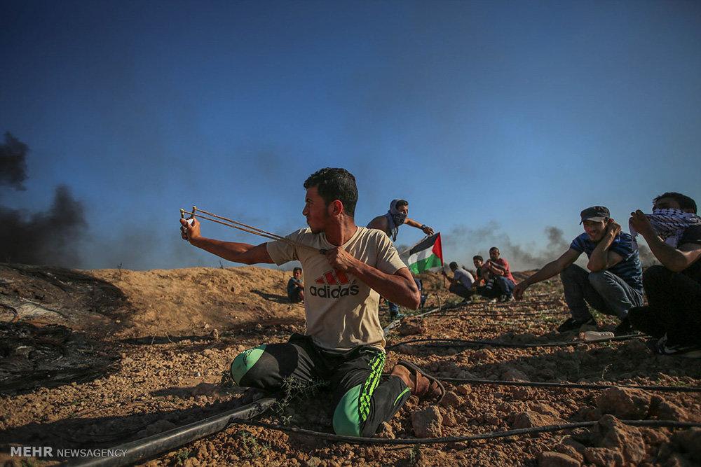 اعتراض به قطع برق در نوار غزه
