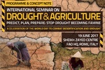 FAO hosts Intl. seminar on drought co-organized by Iran, Netherlands