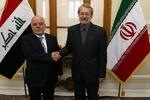 عراقی وزیر اعظم کی ایرانی اسپیکر سے ملاقات