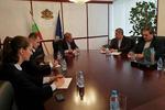 دیدار کاردار و رایزن فرهنگی ایران درصوفیه با وزیر فرهنگ بلغارستان