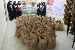 ۲۲۴۰ سبد غذایی بین نیازمندان استان سمنان توزیع شد
