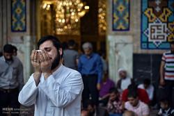مسجد گوہر شاد میں طلباء کے اعتکاف کے معنوی جلوے
