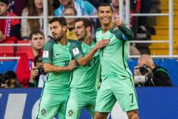 پیروزی پرتغال مقابل روسیه/ صعود به صدر جدول با گلزنی رونالدو