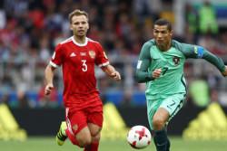 رونالدو: هدفمان رسیدن به نیمه نهایی جام کنفدراسیون ها بود