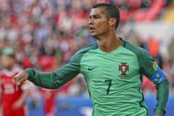 کریستیانو رونالدو بهترین بازیکن دیدار روسیه - پرتغال شد