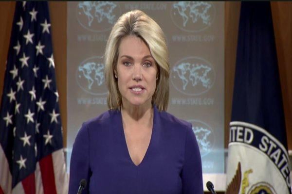 هدر نائروت سخنگوی وزارت خارجه آمریکا