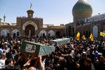 تشییع ۳ شهید مدافع حرم حضرت زینب در ری/راه شهدا ادامه دارد