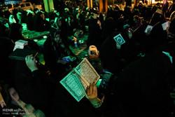 احیا در شب بیست و هفتم ماه رمضان در گلزار شهدای اهواز