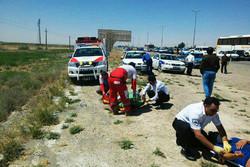 ۱۹مجروح در برخورد اتوبوس و کامیون/۴ حادثه دیده عراقی هستند