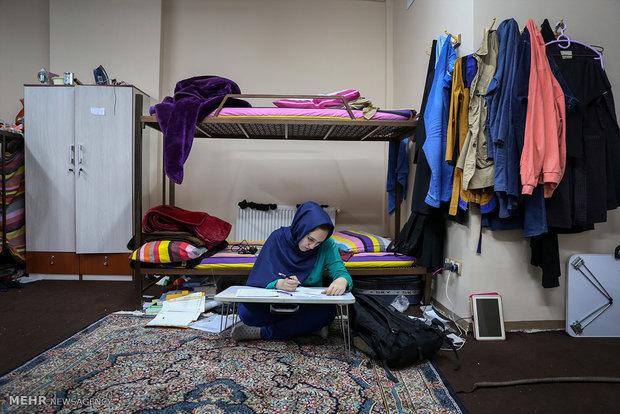 اتاق نمونه بهداشتی خوابگاههای دانشگاه تهران انتخاب میشود