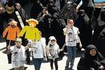 تکرار یک حضور حماسی/نسل سوم و چهارم انقلاب هم آمدند