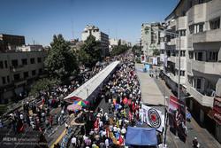 راهپیمایی روز  قدس در تهران -1