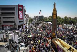 İran'da Dünya Kudüs Günü gösterileri gerçekleşti
