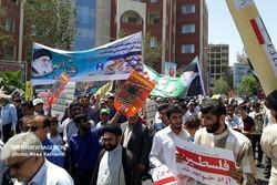 راهپیمایی روز جهانی قدس بوشهر