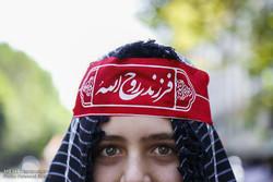 Tahran'da Kudüs Günü gösterileri