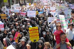 İran'da Kudüs Günü gösterileri