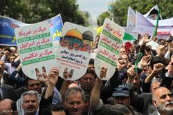 مسیرهای راهپیمایی روز قدس در شیراز اعلام شد