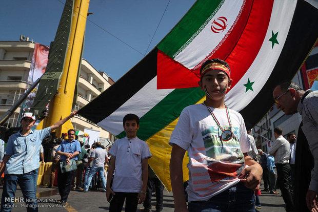 مسيرات يوم القدس العالمي في طهران