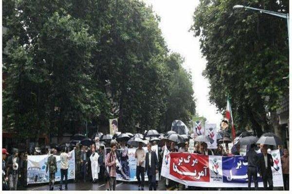 راهپیمایی روز قدس در رشت