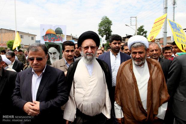 راهپیمایی روز قدس در گرگان