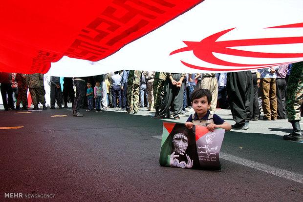راهپیمایی روز قدس در سنندج - مبین پیمانکار