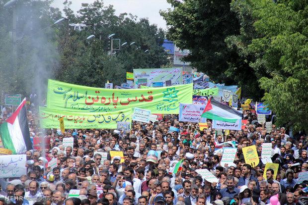 150 صحفي من 20 بلد في العالم بيوم القدس العالمي في إيران غداً