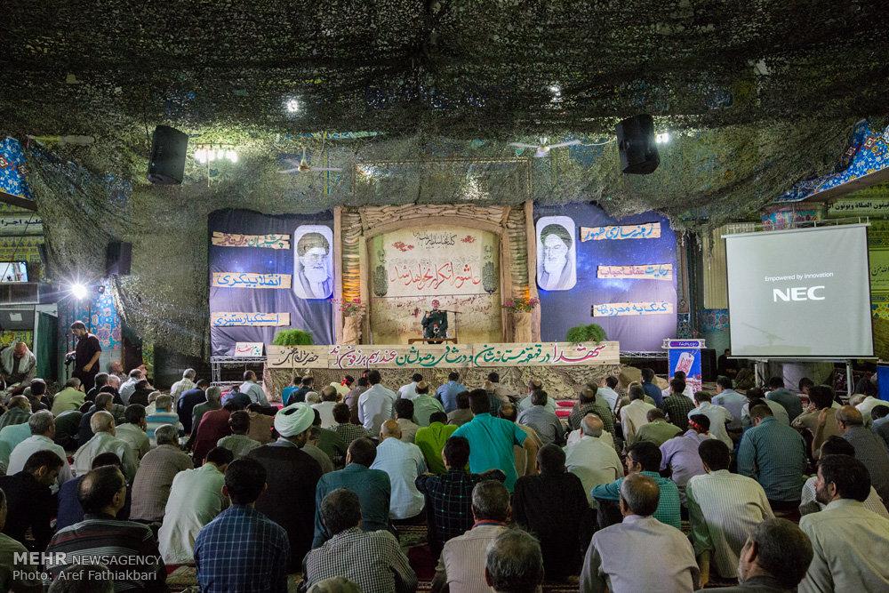 همایش شبی با و م عان حرم در مسجد جامع شهریار