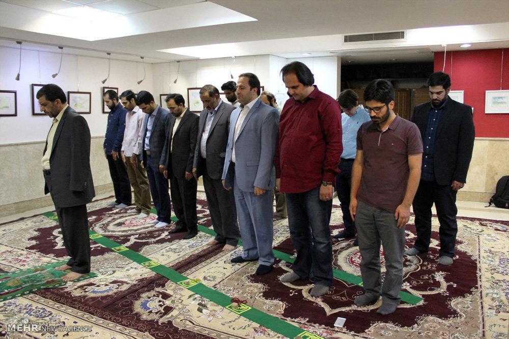 ضیافت افطار فعالان فرهنگی و هنری در فرهنگسرای شه