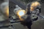 غارات روسية تستهدف معاقل داعش في محافظة حماة السورية