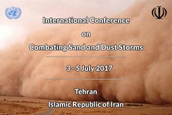 Iran to hold intl. conf. on combating sand storms