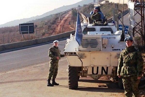 نیروهای حافظ صلح در لبنان