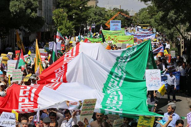 راهپیمایی  مردم مانه و سملقان در محکومیت هنجارشکنی استکبار جهانی و  دفاع از ولایت و نظام