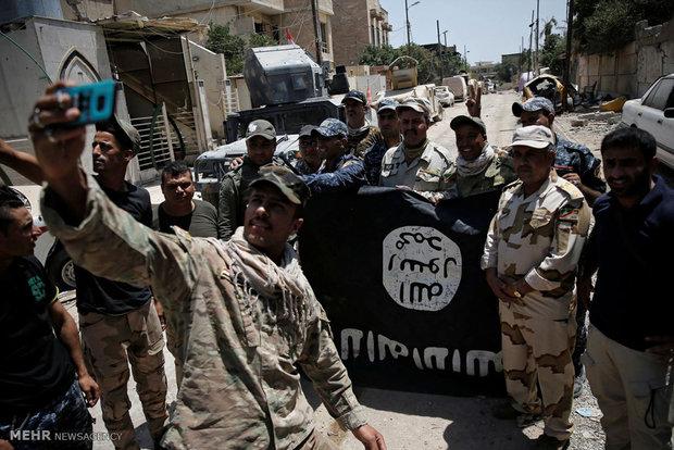 القوات العراقية تعلن تحرير حي الفاروق الأولى بالموصل القديمة