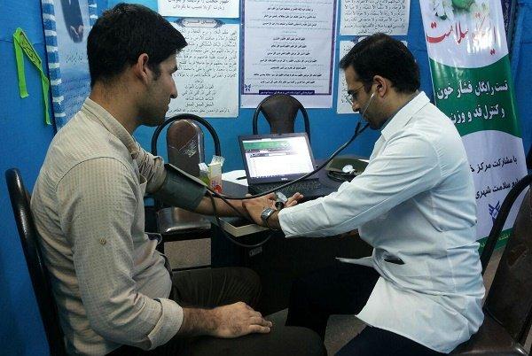 برپایی ایستگاه سلامت در ۴۰ بقعه و آستان امامزادگان استان بوشهر