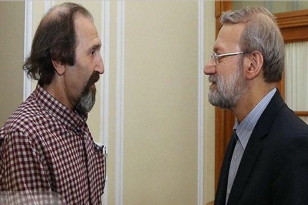 دیدار داوود میرباقری با علی لاریجانی