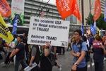 اعتراض مردم کره جنوبی به استقرار سامانه موشکی آمریکا