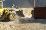 تخریب ساختوسازهای غیرمجاز در حریم راههای شهرستان کوهدشت