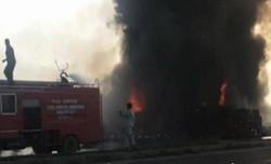 آتش سوزی پاکستان