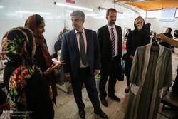 بازدید سفیر دانمارک از طرح های انسان دوستانه شورای پناهندگان دانمارک در کرج