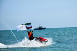 برگزاری مانور امنیت و ساماندهی سواحل در شهرستان مرزی آستارا