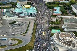أكثر من ربع مليون مسلم يؤدون صلاة عيد الفطر في موسكو