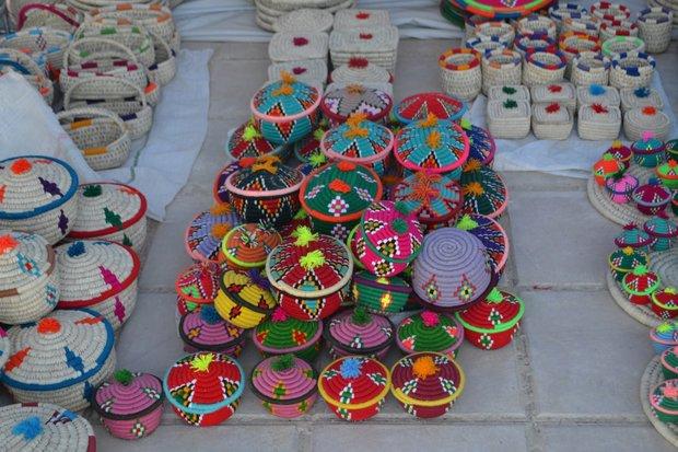 """معرض الصناعة اليدوية في مدينة آبدانان جنوبي محافظة """"إيلام"""""""