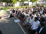 نماز عید سعید فطر در کرمانشاه برپا شد