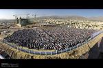 برپایی نماز عید سعید فطر بر فرار تپه مصلای همدان