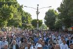 امدادرسانی به ۴۵ نفر در نماز عید فطر در مصلی