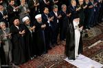 تقرير مصور عن اقامة صلاة عيد الفطر بأمامة قائد الثورة -2-