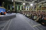 قائد الثورة يدعو العالم الاسلامي الى القيام بواجبه في مقارعة الكيان الصهيوني