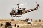 انهدام ۷ خودرو داعشی ها در حملات بالگردهای عراقی