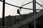 """Tahran'daki """"Heyecan Kulesi""""nden kareler"""